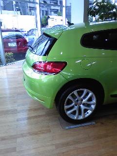 VWシロッコに試乗