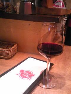 ワインカフェ発見
