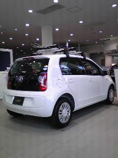 VW UP 試乗