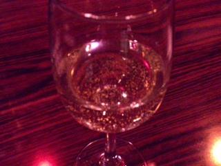 金箔酒・・・でも美味い♪