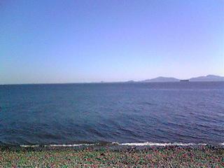 今日の三河湾