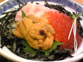 富山で海鮮丼